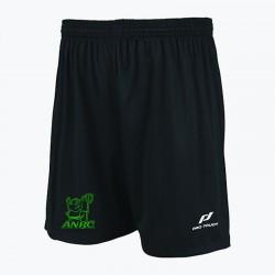 Short noir avec logo