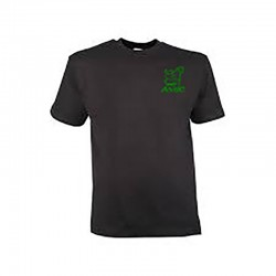 T-shirt noir avec logo